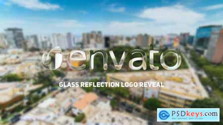 Videohive Glass Reflection Logo Reveal 23418818