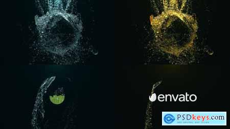 Videohive Epic Water Logo 22128424