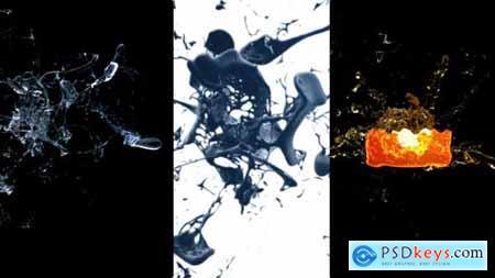 Videohive Splash Logo Reveal 11526221