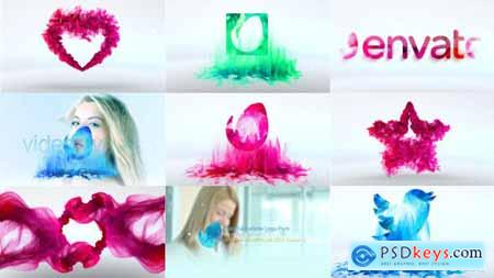 Videohive Colorful Particle Logo Pack 10116250