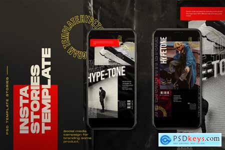 HYPE=TONE - Instagram Post & Stories 4064555