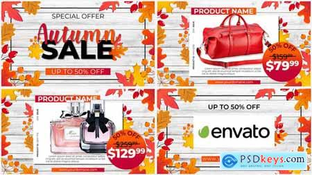 Videohive Autumn SALE Promo 24485329