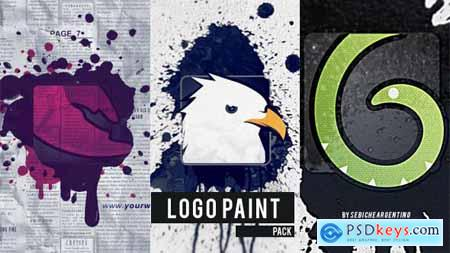 Videohive Logo Paint Pack 12045427
