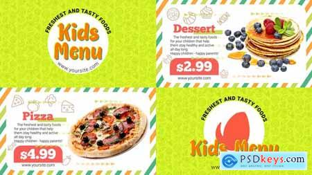 Videohive Kids Menu 24175731