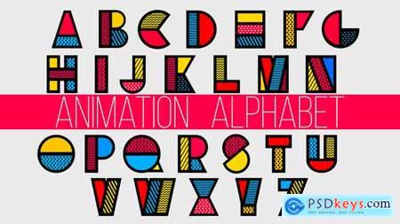 Videohive Pattern Alphabet 23358334