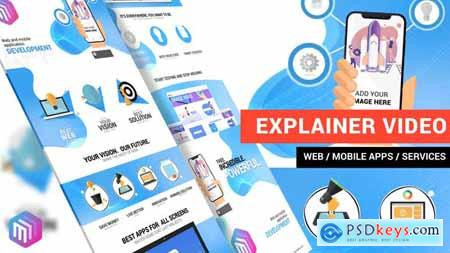 Videohive Explainer Video Web and Mobile Apps, Online Services 22832368