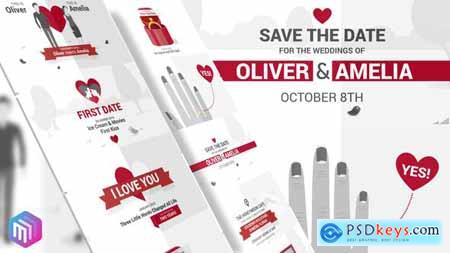 Videohive Save The Date Video Wedding Invitation 22291271