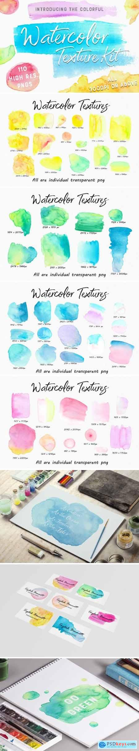 The Colourful Watercolour Kit 1738445