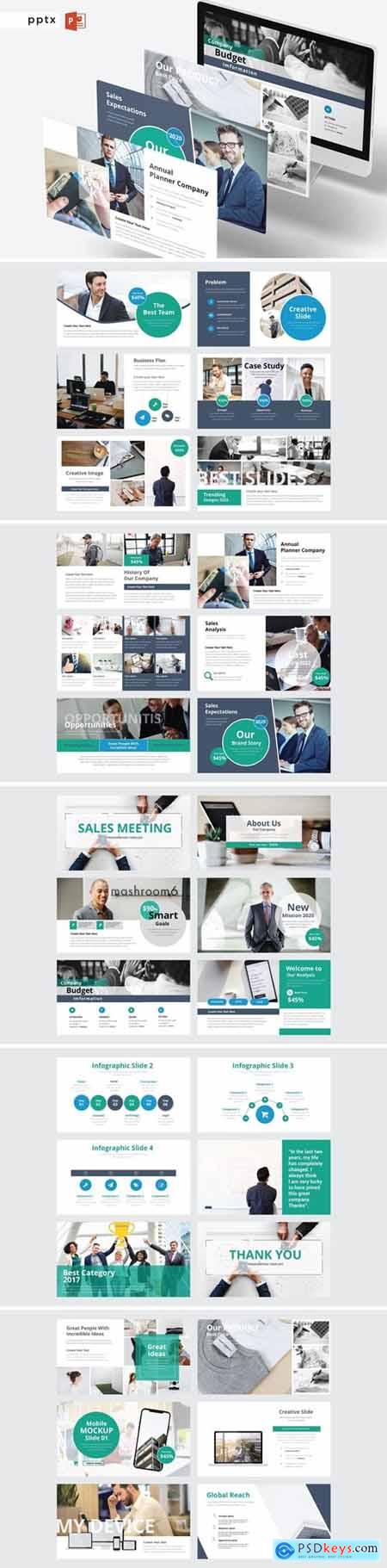 SALES MEETING Powerpoint, Keynote and Google Slides Templates