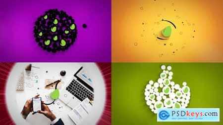 VideoHive Clean Logo Modular Reveal Set 24482542