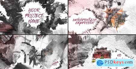 Videohive Ink Slideshow 20541485