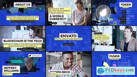 Videohive Blockchain Startup Overview 23433663