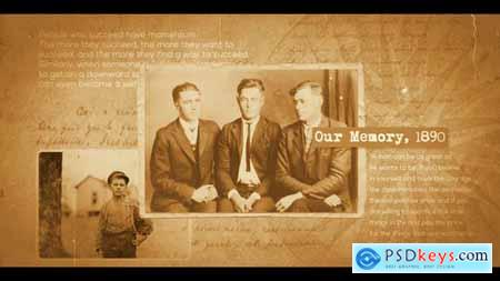 Videohive Documentary Historical Slideshow 22102332