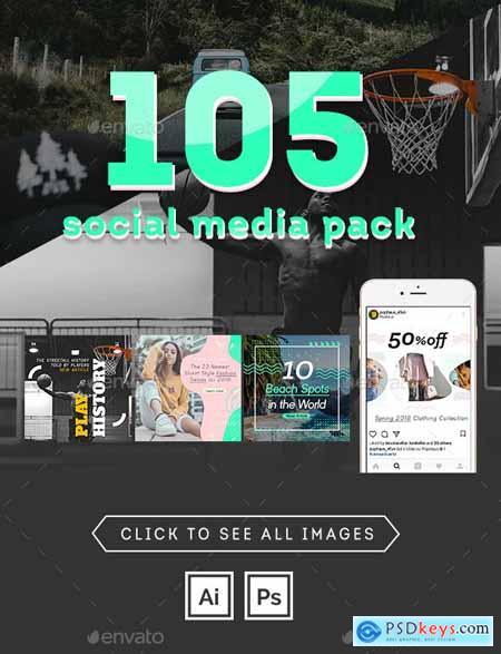 105 Social Media Pack 24328443