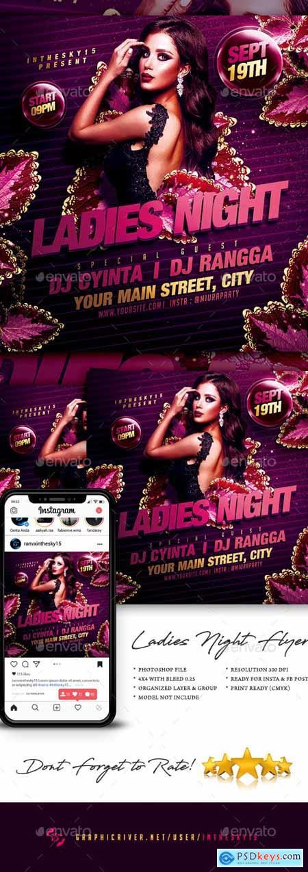 Ladies Night Flyer 24431803