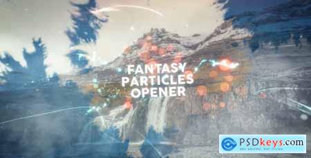 Videohive Fantasy Particles Title Sequence 20331999