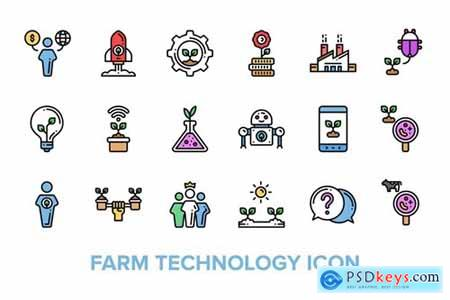Farm Technology Icon