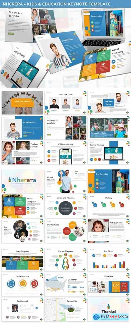 Nherera - Kids & Education Keynote Template