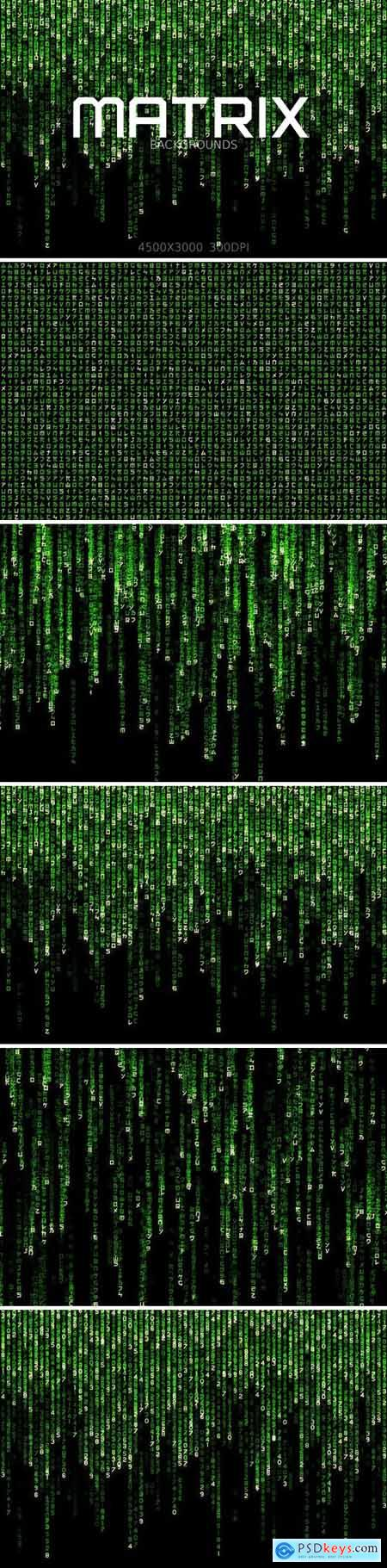 Matrix Backgrounds and Overlays