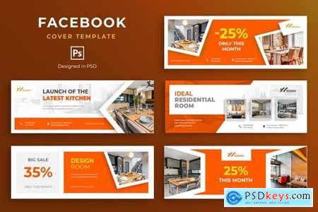 Furniture Facebook Cover Template