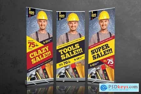 Tools Sale Roll Up Banner