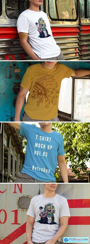 T-shirt Presentation Mockup