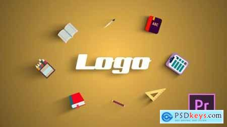 Videohive School Logo Reveal 24473207