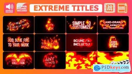 Videohive Extreme Titles FCPX 24508053