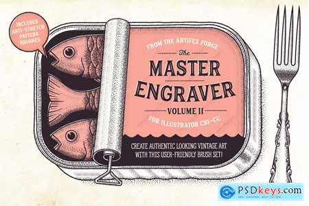 The Master Engraver - Brushes 3260325