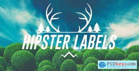 Videohive Hipster Labels 14981927