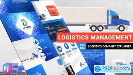 Videohive Logistics Management Explainer 22824718