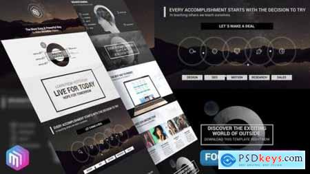 Videohive The Corporate Modern Style Business Presentation 21741425