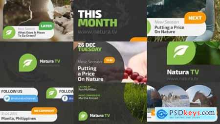 Videohive Natura TV Broadcast Ident 13914644
