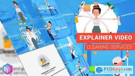 Videohive Edit Explainer Video Cleaning Services 21879256