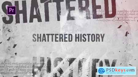 Videohive Shattered History 24507465