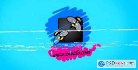 Videohive Stroke Logos 12416802