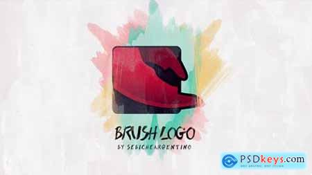 Videohive Brush Logo 14749695