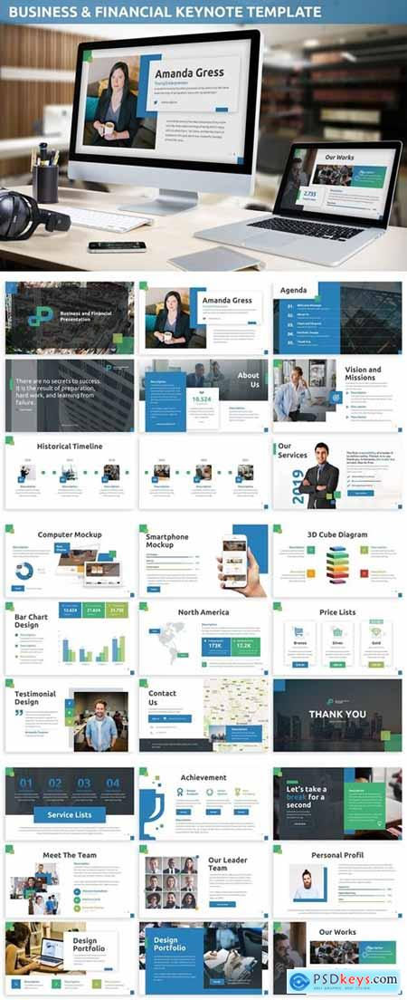 Business & Financial Keynote Template