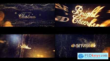 Videohive Gold Christmas Greeting Titles 22866725