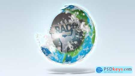 Videohive Earth Logo Reveal 24179947