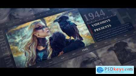 Videohive Your Memory History In Numbers 24500754
