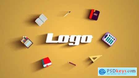 Videohive School Logo Reveal 24395750