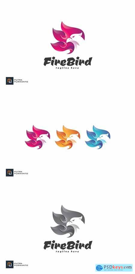 Fire Bird - Logo Template » Free Download Photoshop Vector