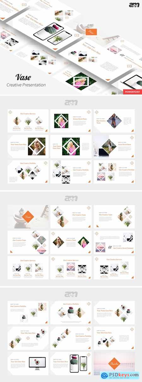 Vase - Creative Powerpoint, Keynote and Google Slides Templates