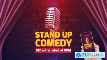 Videohive Stand Up Comedy 24537451
