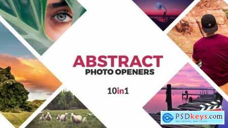 Videohive Abstract Photo Openers Logo Reveal 24354584