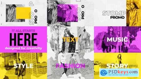 Videohive Stomp Promo Fashion Intro 22593863