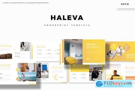 Haleva Powerpoint, Keynote and Google Slides Templates