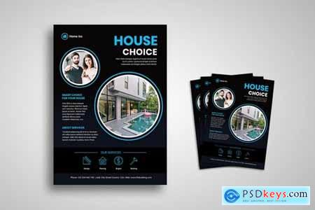Home LIving Flyer Promo Template