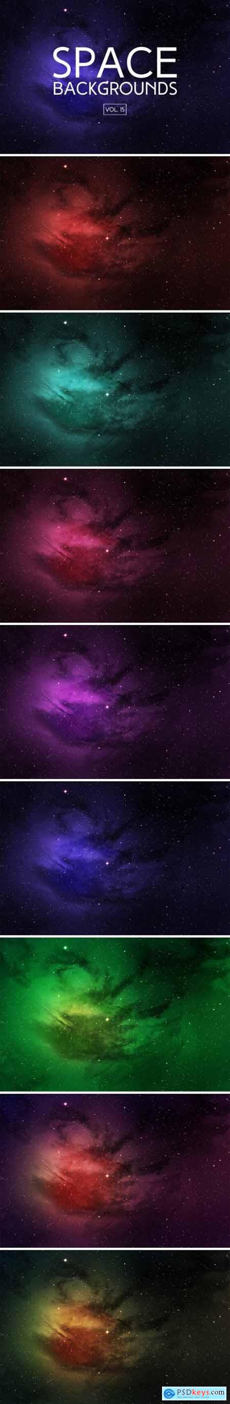 Space Backgrounds Vol.15